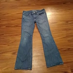 AMERICAN EAGLE Kick Boot cut JEANS Size 12